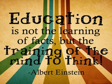 education-is-not-the-learning